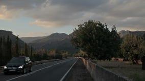 Valldemossa provincial town. Palma de Mallorca, Spain, Balearic Islands August 2013 Farm property stock video