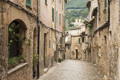Valldemossa street Stock Photos