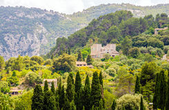 Valldemossa village on Majorca Royalty Free Stock Photography