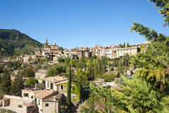 Valldemossa village in Majorca Royalty Free Stock Images