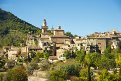 Valldemossa village in Majorca Royalty Free Stock Photos