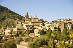 Valldemossa village in Majorca Stock Images
