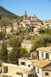 Valldemossa village in Majorca Royalty Free Stock Photography