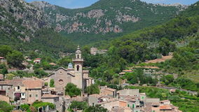 Valldemossa village, Mallorca Island, Spain stock video