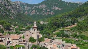 Valldemossa village, Mallorca Island, Spain. Valldemossa village, Mallorca Majorca Island, Balearic Islands, Spain stock video