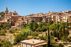 Valldemossa village in Mallorca. Spain Stock Image