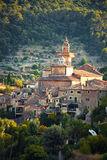 Valldemossa village Royalty Free Stock Image