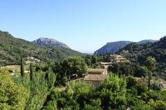 Valldemossadorp, Mallorca Stock Foto's