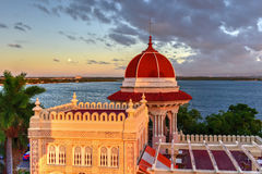 Valle παλάτι - Cienfuegos, Κούβα στοκ φωτογραφίες