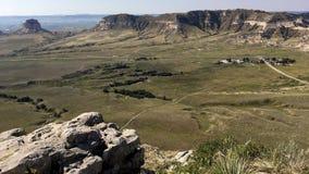 Valle al monumento nazionale di bluff di Scotts Fotografia Stock Libera da Diritti