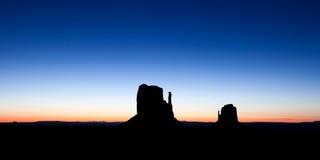 Valle Arizona del monumento Fotografia Stock Libera da Diritti