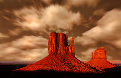 Valle Arizona del monumento Imagenes de archivo