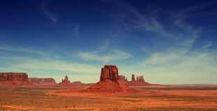 Valle Arizona del monumento Immagini Stock