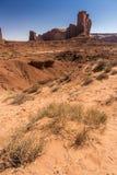 Valle Arizona del monumento della collina del cammello fotografia stock libera da diritti