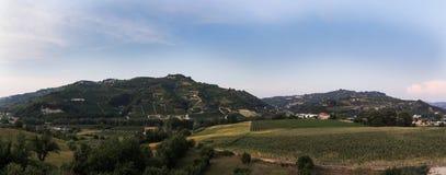 Valle Belbo 4 Fotografía de archivo libre de regalías