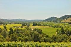 Valle Ca de Sonoma Imagen de archivo libre de regalías