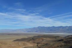 Valle California de Panamint Fotos de archivo libres de regalías