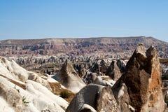 Valle Cappadocia de Goreme imagenes de archivo