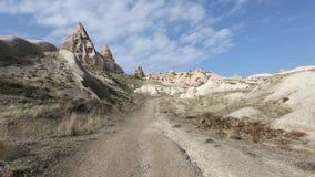 Valle Cappadocia de la paloma Imagen de archivo