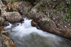 A valle in cascata di Datanla in Dalat, il Vietnam Immagini Stock