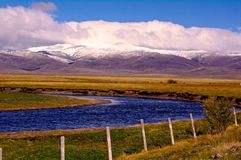 Valle centennale, Montana Fotografia Stock