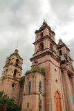 Valle church III. Principal church of the touristic city of valle de bravo in mexico Stock Image