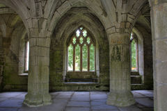 Valle Crucis Abbey Stock Images