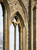 Valle Crucis Abbey Archway Detail Photographie stock libre de droits