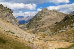 Vallée d'Anayet Photo stock