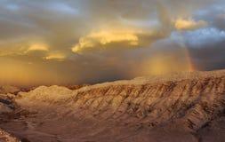 Valle de Λα Luna αμμόλοφος άμμου Στοκ Εικόνες