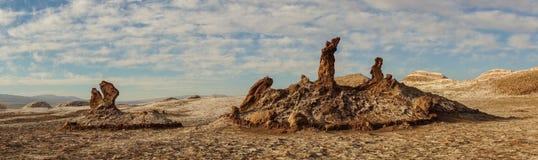 Valle de Λα Luna στην έρημο Atacama, Χιλή στοκ φωτογραφία