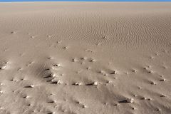 Valle de Λα Luna Moon κοιλάδα στην έρημο Atacama κοντά σε SAN Pedro de Atacama, Antofagasta - Χιλή Στοκ Φωτογραφία