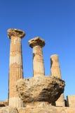 Valle de Agrigento de templos en Sicilia fotografía de archivo