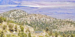 Valle de Alfalfa en California imágenes de archivo libres de regalías