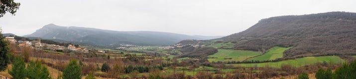 Valle de Amezkoa Imagen de archivo libre de regalías