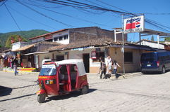 Valle de angeles. Old mining town in Honduras, CA royalty free stock photos