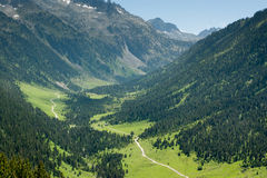 Valle de Aran Spanish Pyrenees Royalty Free Stock Images