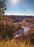 Valle de Arkansas Fotografía de archivo