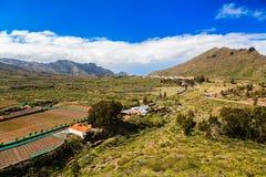 Valle de Arriba κοντά στο Σαντιάγο del Teide Στοκ εικόνες με δικαίωμα ελεύθερης χρήσης