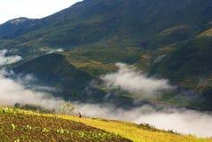 Valle de Baliem en la provincia de Papua Imagenes de archivo