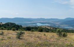 Valle de Baydar, Crimea Fotos de archivo libres de regalías