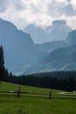 Valle de Bielovodska en las montañas de Tatry Foto de archivo