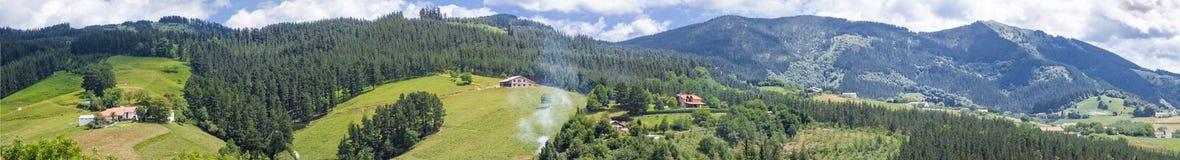 Vallée de Bizkaia Photo stock