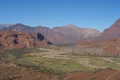 Valle de Cafayate Imagen de archivo libre de regalías