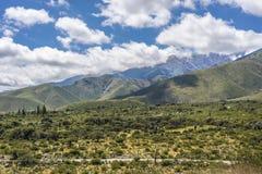 Valle de Calchaqui en Tucumán, la Argentina Fotografía de archivo libre de regalías