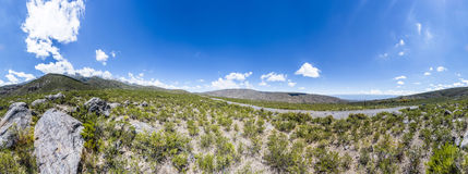 Valle de Calchaqui en Tucumán, la Argentina Fotos de archivo