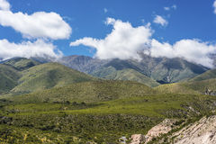 Valle de Calchaqui en Tucumán, la Argentina Imagenes de archivo