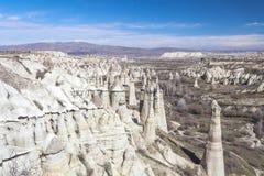 Valle de Capadocia Turquía Imagen de archivo