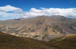 Valle de Cardrona Foto de archivo