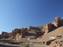 Valle de castillos imagen de archivo